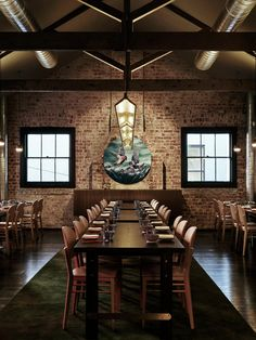 Completed in 2015 in Melbourne, Australia. Images by Brooke Holm . Lee Ho Fook is a Chinese restaurant focusing on old world food done in a new way.  This formed the basis of the brief which was to create an...
