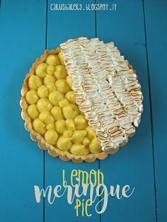 Caru's Bakery: Lemon Meringue Pie - Crostata meringata al limone