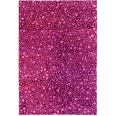 cool rug...but i would probably want a different color than pink...