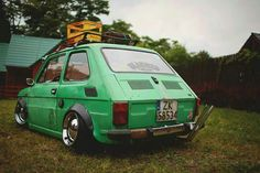 """""""So many cool pics of this Fiat 126, Old Hot Rods, Fiat Cars, Vintage Italy, Modified Cars, Car And Driver, Motor Car, Custom Cars, Cars And Motorcycles"""