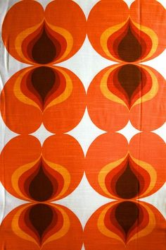 retro 70 39 s circle pattern arw002 astek retro wallpaper
