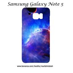 Azure Nebula Samsung Galaxy Note 5 Case Cover Wrap Around