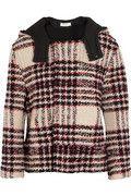 Marni Bouclé-tweed hooded jacket NET-A-PORTER.COM