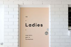 Typography put to good use. #letsgetinformation