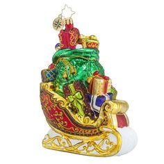 Gorgeous Gifts For All Ornament by Christopher Radko $44.10