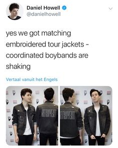 Did you mean boyfriends cough I mean what
