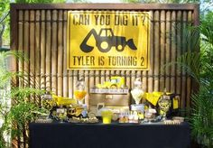 #construction #truck #party #planning #ideas #decorations #supplies #idea (2)