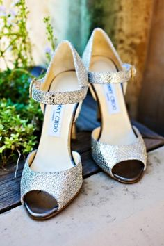 Silver Jimmy Choos, no explanation needed!