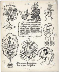 traditional russian tattoos - Buscar con Google