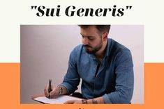 """""""Sui Generis"""" è il libro di Domenico Costanzo che pubblicheremo dopo il periodo estivo..."""