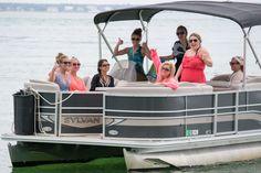 pontoon rental in destin fl- rent a pontoon to take to crab island