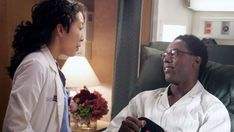 """Best Couple ever! Cristina and Burke, """"Grey's Anatomy"""" Being left at the altar never felt so good after Cristina (Sandra Oh) realizes she thought she wanted to get married, while Burke (Isaiah Washington) felt he was forcing her to be the woman he wanted."""