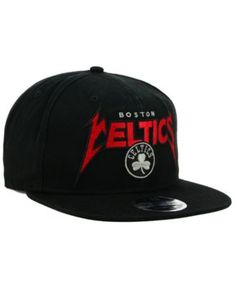 2e583f14418 New Era Boston Celtics 90s Throwback Groupie 9FIFTY Snapback Cap - Black  Adjustable