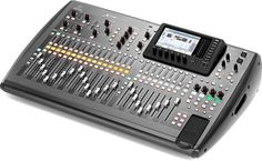 Behringer X32, 32-Channel 16-Bus Digital Total Recall Live/Recording Mixing Console, 32 channels with inserts, 16 mix busses with thomann inserts, 6 aux sends and returns, 8 stereo FX returns, 6 matrix mixers with inserts, 6 mute groups, 8 DCA groups, Full-recording / multi-channel networking via USB expansion cards, and so much more that is possible with this device