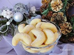 Czech Recipes, Gluten, Sweet Cakes, Christmas Cookies, Sausage, Food And Drink, Menu, Sweets, Cheese