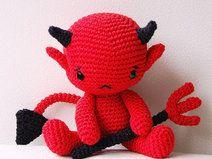 Amigurumi Pattern (Häkelanleitung) - Baby Devil