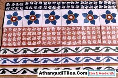 AthangudiTiles.Com - Athangudi Tiles - Tile Designs Room Wall Tiles, Indian Crafts, Tile Design, Wood Crafts, Antiques, Home Decor, Antiquities, Antique, Decoration Home