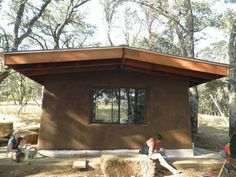 Middletown Cob Cabin - Earthen Shelter