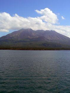 Sakurajima(櫻島), Japan - an active volcano