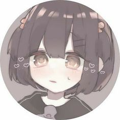 Cartoon Profile Pics, Cute Profile Pictures, Anime Profile, Pictures To Draw, Cool Anime Girl, Kawaii Anime Girl, Anime Art Girl, Anime Child, Cute Characters