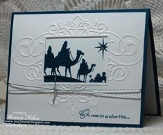 Image result for come to bethlehem stampin up
