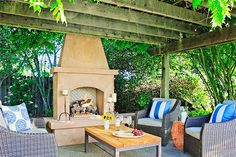 The Most Stunning Airbnbs In Wine Country  #refinery29  http://www.refinery29.com/wine-country-airbnbs#slide-20  A patio has never looked this inviting.