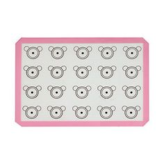 Amariver Premium Silicone Baking Mat for Macarons  Half Sheet Size  Reusable Nonstick Cookie Sheet Surface ConsistentPink >>> You can get more details by clicking on the image.