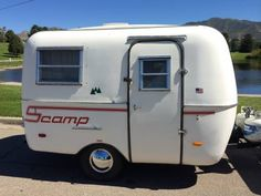 Vintage Scamp Trailer 1983 900lbs original nice! SALT LAKE, UT $4800