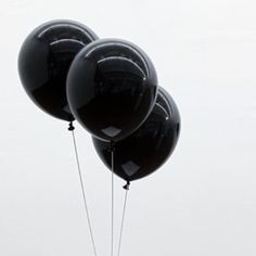 Party ballons black
