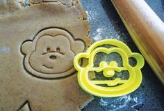 3D Printed Monkey Cookie Cutter by MakingItNice on Etsy