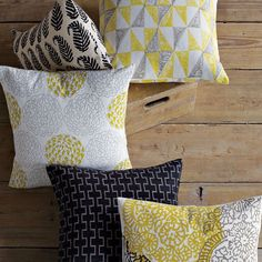 love the colors on these pillows