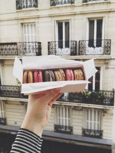Eating laudree in Paris-