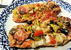 Eggplant Pizza Supreme Recipe -  Yummy this dish is very delicous. Let's make Eggplant Pizza Supreme in your home!