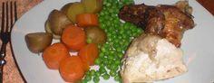 Kylling med hvidløgsost - En virkelig lækker måde at servere kylling på. Vi var seks til spisning, så vi snuppede et par ekstra kyllingeoverlår. Dommen taler for sig selv.  - http://www.dropslankekuren.dk/tophistorie/kylling-med-hvidlgsost/