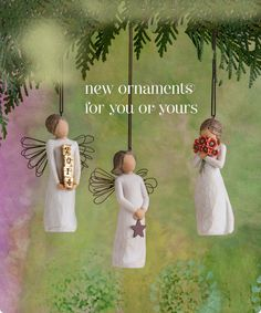 Willow Tree Ornaments: New ornaments for you and yours