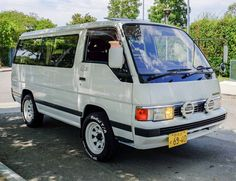 Learn more about Not a Dodge: 1990 Nissan Caravan Turbodiesel on Bring a Trailer, the home of the best vintage and classic cars online. Diesel, Nissan, Toyota Van, Sliding Curtains, Kei Car, Classic Cars Online, Old Trucks, Old Cars, Caravan