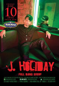 J. Holiday (6.10.16)