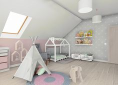Interior Design Living Room, Design Bedroom, Bedroom Ideas, Girl Room, Child Room, White Bedroom, Toddler Bed, Room Decor, Kids Rugs