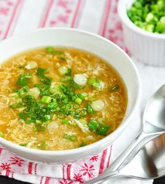 Egg Drop Soup - one of my ALL time favs!