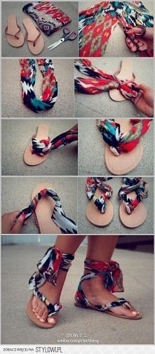 slippers to scarf sandals