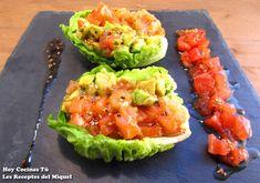 Hoy Cocinas Tú: Tartar de pescado y guacamole