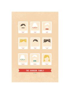 'Modern Family Tree', on Minted.com