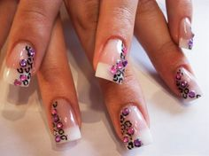 Leopard & Gems - Nail Art Gallery by NAILS Magazine
