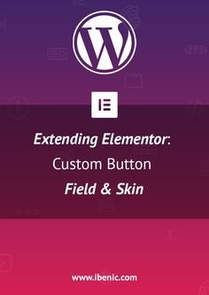 Learn how to extend Elementor WordPress Page Builder with your own custom fields and skins for various elements. In this tutorial I will show you how add a field and a skin for a button. Learn Wordpress, Wordpress Plugins, Custom Buttons, Self Publishing, Web Development, About Me Blog, Social Media, Marketing, Learning
