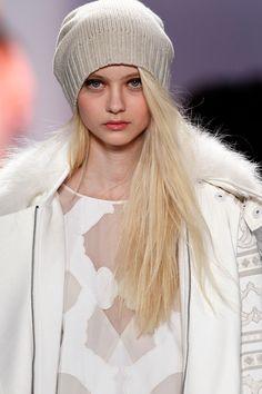 BCBG Max Azria: Hat Headed @Mercedes-Benz Fashion Week @BCBG MAX AZRIA #mbfw #nyfw #fall2013