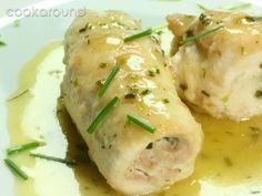 Involtini di petto di pollo all'erba cipollina: Ricette di Cookaround | Cookaround