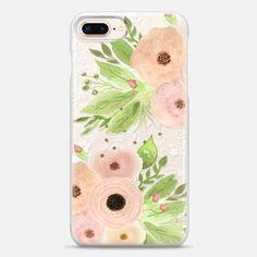 Casetify iPhone 8 Plus Snap Case - Lovely Flowers by Li Zamperini Art