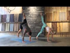 Challenging Power Yoga Class with Dylan Werner & Ashley Galvin (free, full length) - YouTube
