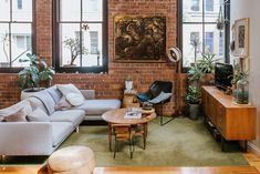 House Tour: A Modern Home in a 100-Year-Old Wool Mill   Apartment Therapy