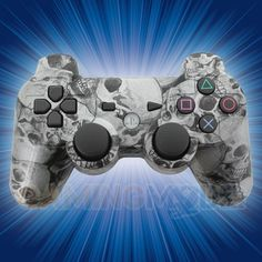 Silva Skulls Playstation 3 Modded Controller  is a perfect gift for a special gamer in your life! All of GamingModz.com PS3 modded controllers are compatible with every major game on the market today. If you decide to get one of our Xbox 360 or Playstation 3 modded controllers, your gaming experience will increase, overall performance will rise and it will allow you to compete against more experienced players. Watch the video now: http://www.youtube.com/watch?v=SsJnQ6OfGco=share